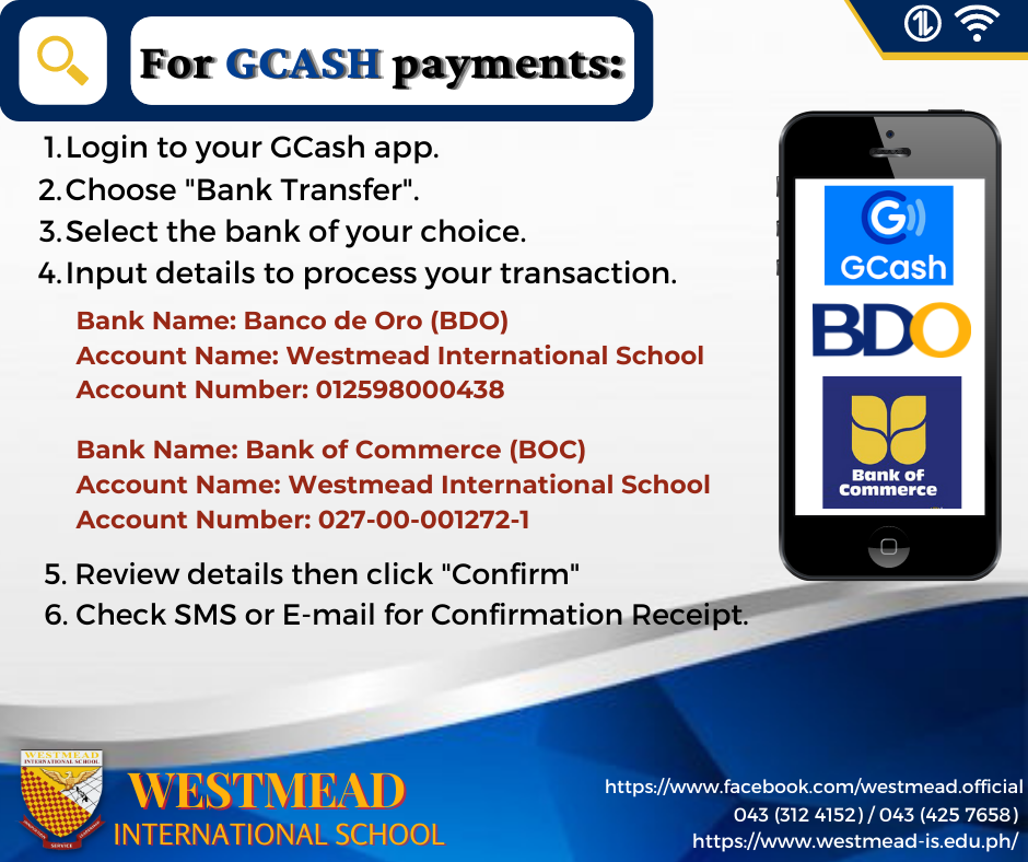 For Gcash Payments