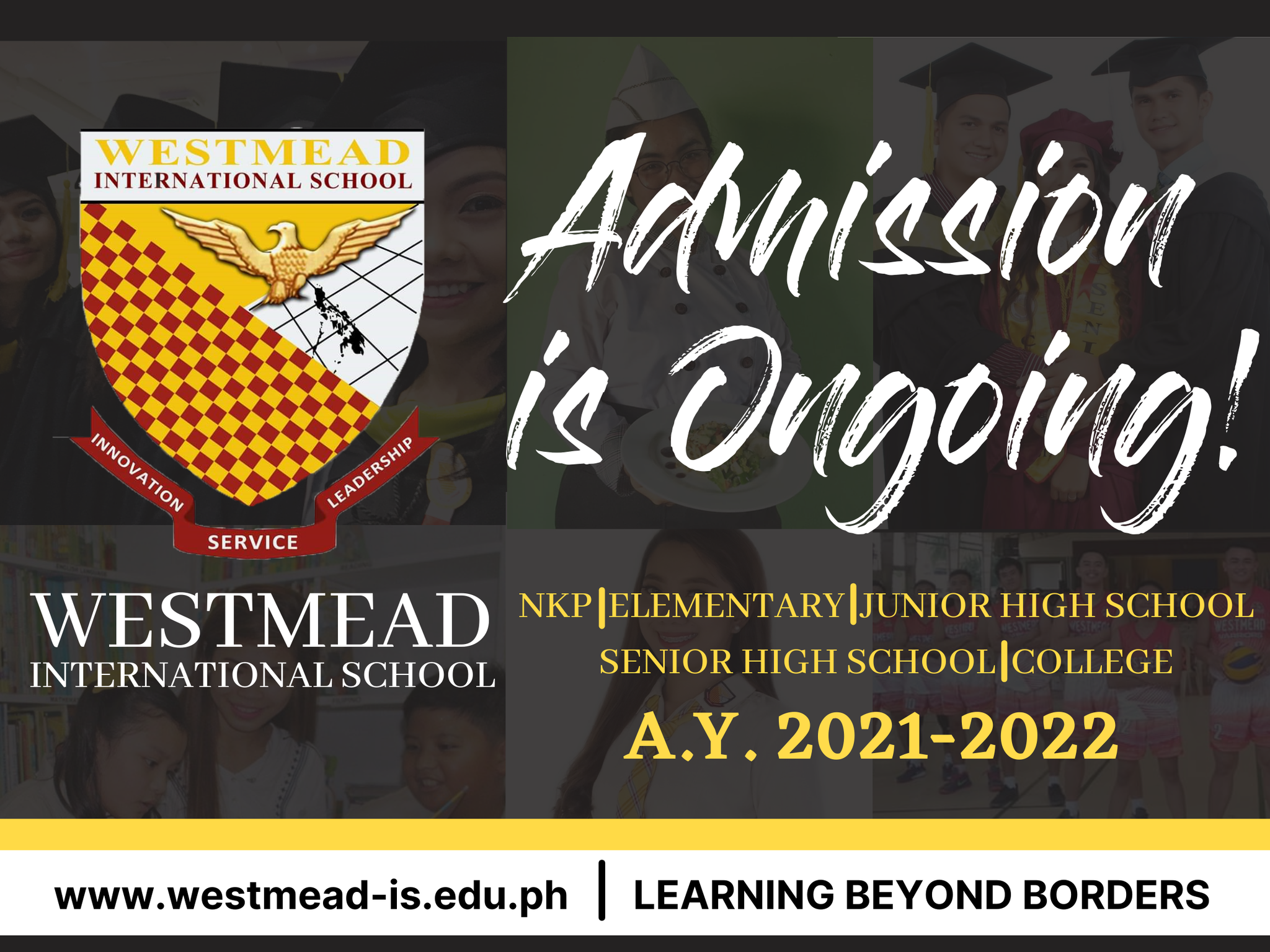 Admission is Ongoing!
